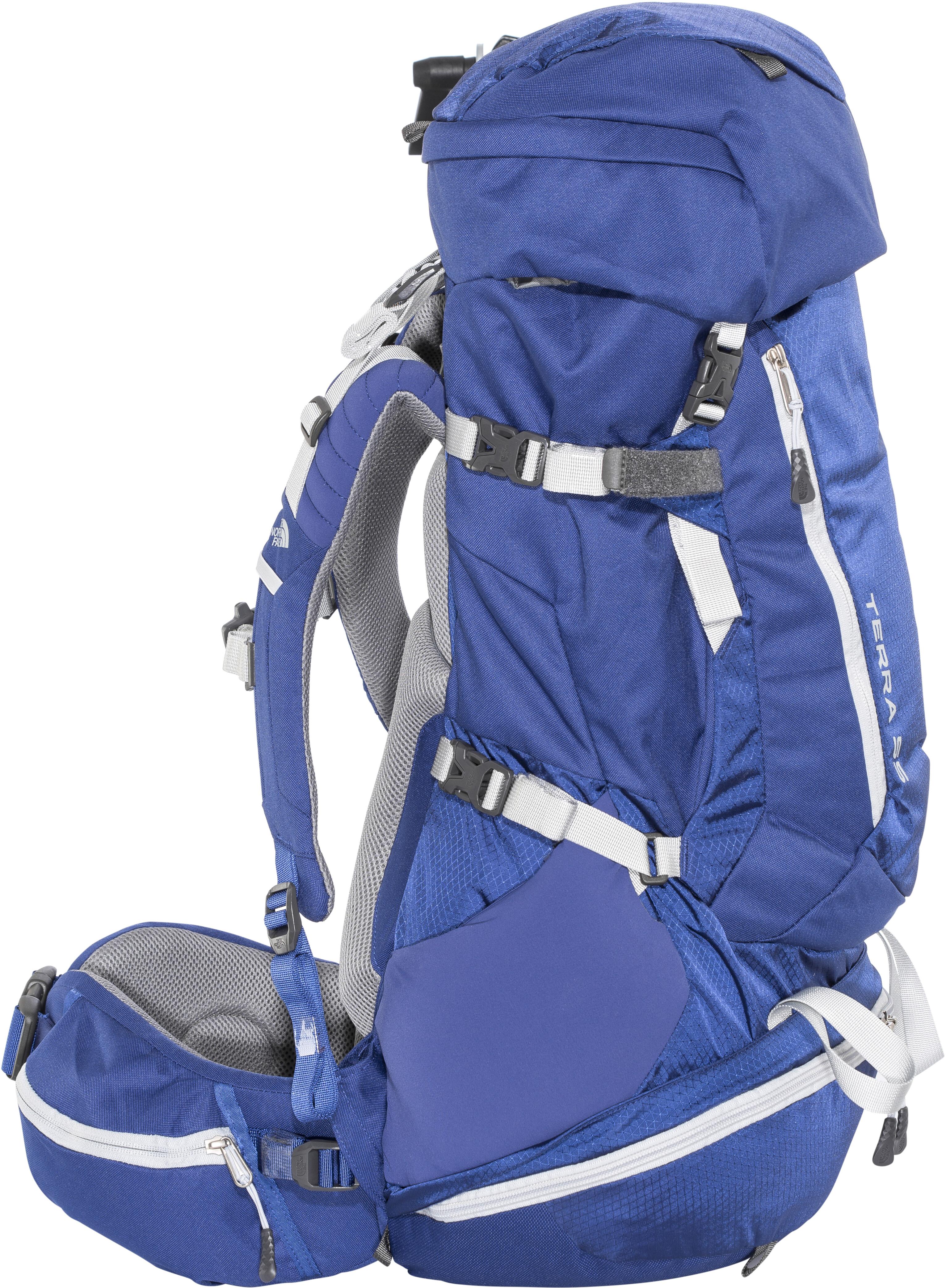 1fd4e1ecc The North Face Terra 55 Backpack Women sodalite blue/high rise grey